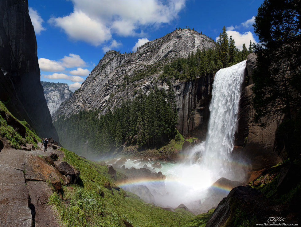 Nature Photo of Vernal Falls in Yosemite