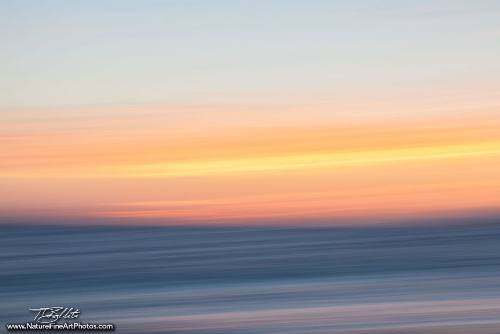 Fine Art Photo Malibu Sunset