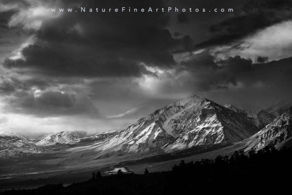 Eastern Sierra mountains photograph