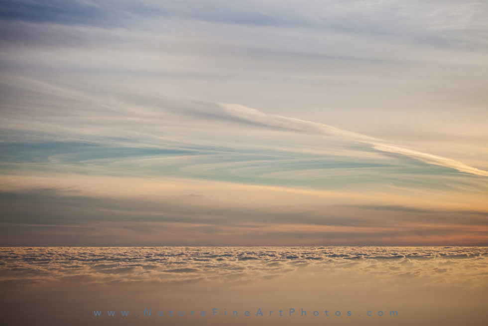 textures of sky and clouds motion blur